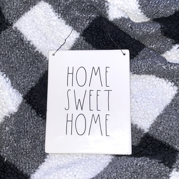 "Rae Dunn ""Home Sweet Home"" sign"